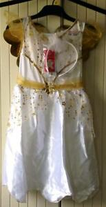 Girls-Angel-Outfit-Fancy-Dress-Up-Christmas-Nativity-School-Play-Costume-7-8yr