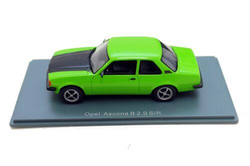 Opel Ascona B 2.0 S//R 1:43 Modellauto Sammlermodell OC11156