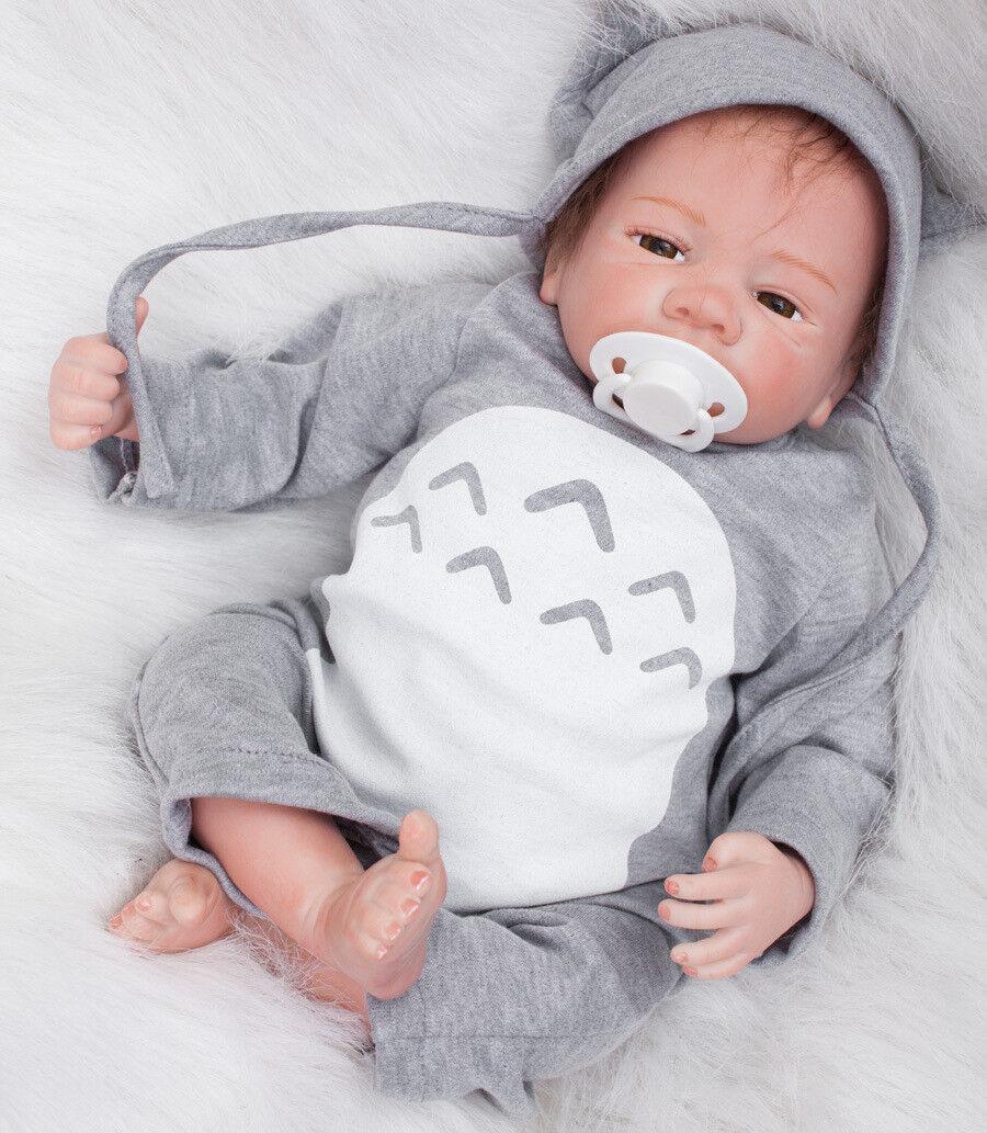 18  Navidad Recién nacidos bebé niño niño amigable bebés reborn doll Lindo realista