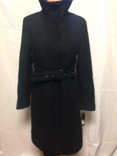 10 col Nouveau Trench Kenneth montant laine Cole en Noir Reaction coat à P0wwzqS6