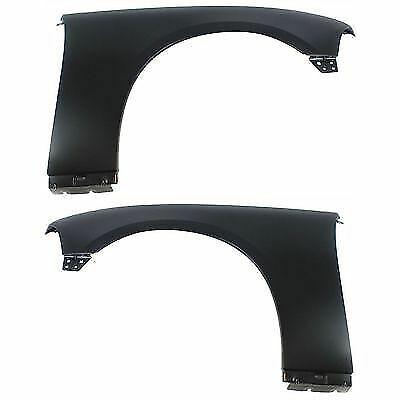 Fender Para 2011-2012 Dodge Charger Conjunto De 2 Frontal Esquerda E Direita Com Primer Aço Capa