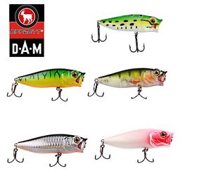 DAM Effzett Baby Popper Fishing Lure 3.5-8cm 3-10.4g Various Colours