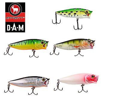 Dam Effzett Baby POPPER fishing lure 3.5-8 cm//3-10.4 g Various Colours