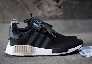 e54df742b146a Adidas NMD R1 Nomad Core Black Sand Brand New Men Size 8-14 (S76847 ...