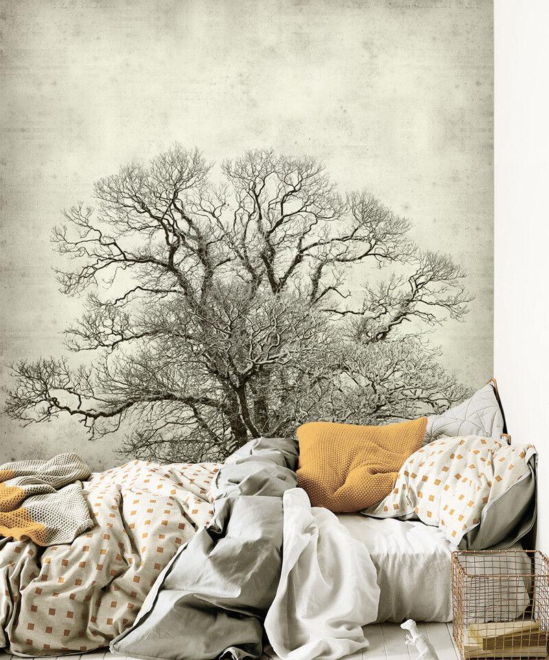 3D Kunst Bemalte Baum 7998 Tapete Wandgemälde Tapeten Bild Familie DE Lemon