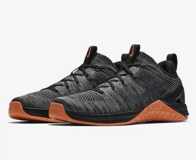 Nike Metcon Dsx Flyknit 2 Hommes Sz 9.5 Croix Entraînement Noir/crimson