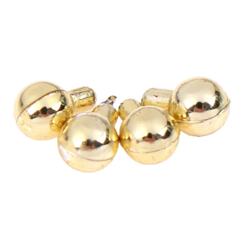 4 PCS Dollhouse miniature door knobs door fittings for doll house decoration BH