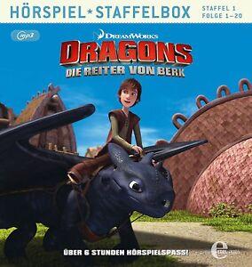 DRAGONS-DIE-REITER-VON-BERK-STAFFELBOX-1-FOLGE-1-20-MP3-CD-NEU