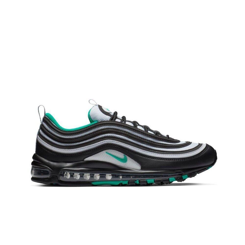 Nike Nike Air Max 97 (Black Clear Emerald-White) Men's  shoes 921826-013