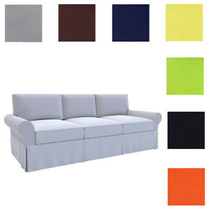 Details about Custom Made Cover Fits Pottery Barn Basic Sofa, PB Basic Sofa  Cover, Clearance