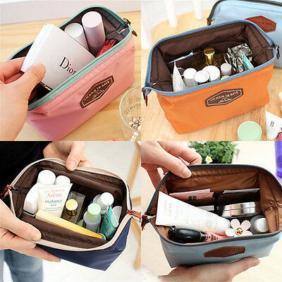 Multi-use Cosmetic Makeup Travel Case Organizer Bag_ICONIC Frame Beauty Pouch