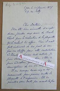 L-A-S-1927-Philippe-BURNOT-Graveur-Lantignie-Chateau-Thulon-LYON-Policard-Forot