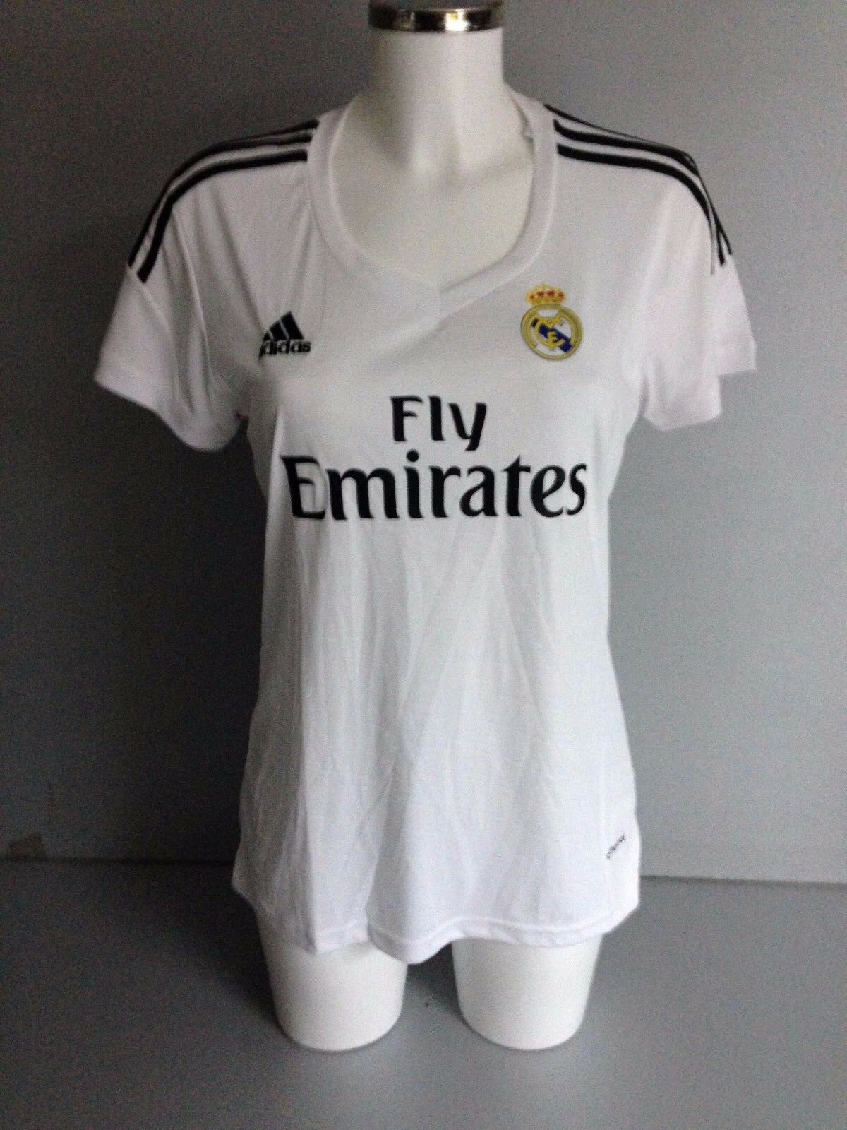 BNWT genuine Real Madrid women jersey home 14-15