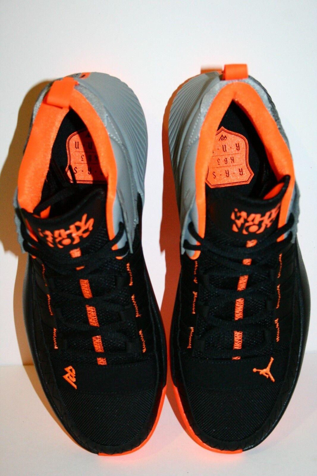 Originale Nike Air Jordan Why Why Why Not Zer0.1 Caos Nere Arancio Bv5498 008 Uomo 23b69a