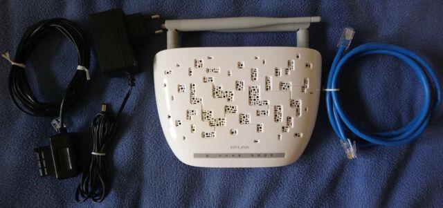 Modem routeur TP-Link TD-W8961ND (ADSL2+, WiFi N, switch ethernet)