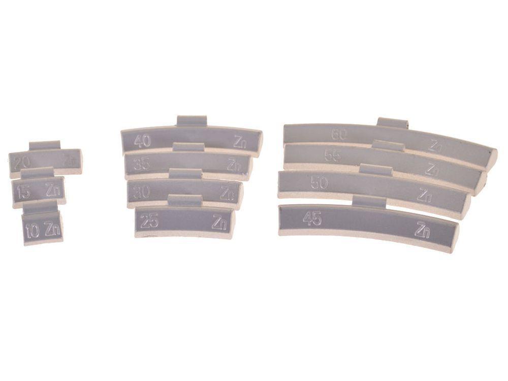 800 Stück Stück Stück Schlaggewichte Auswuchtgewichte Wuchtgewichte 10 - 60g für Alu-Felgen f71fad