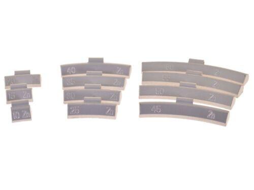 800 Stück Schlaggewichte Auswuchtgewichte Wuchtgewichte 10-60g für Alu-Felgen