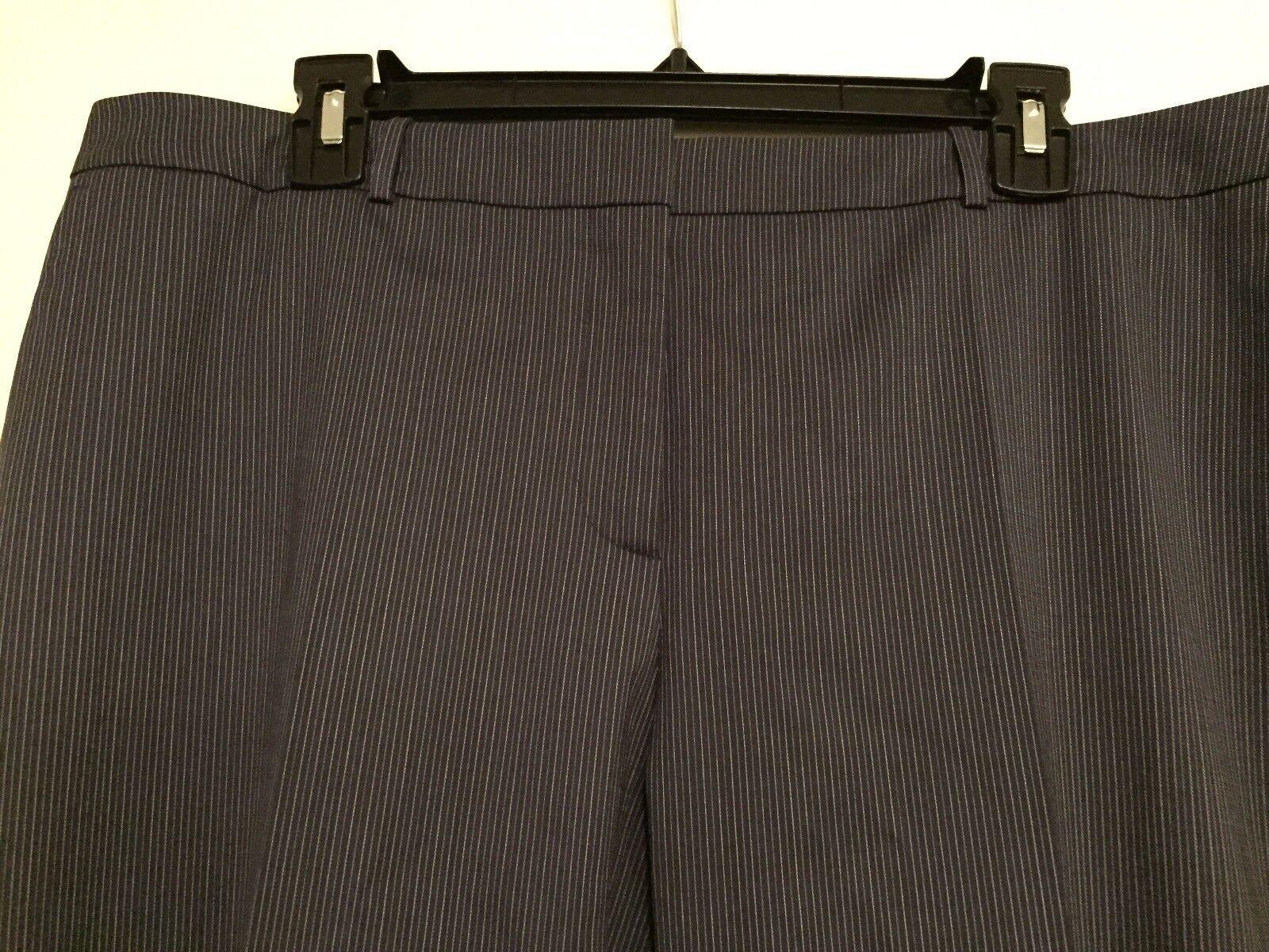 NWT Boss by Hugo Boss Tamea1 Trouser Pants Navy White Pinstripe  285 – 12