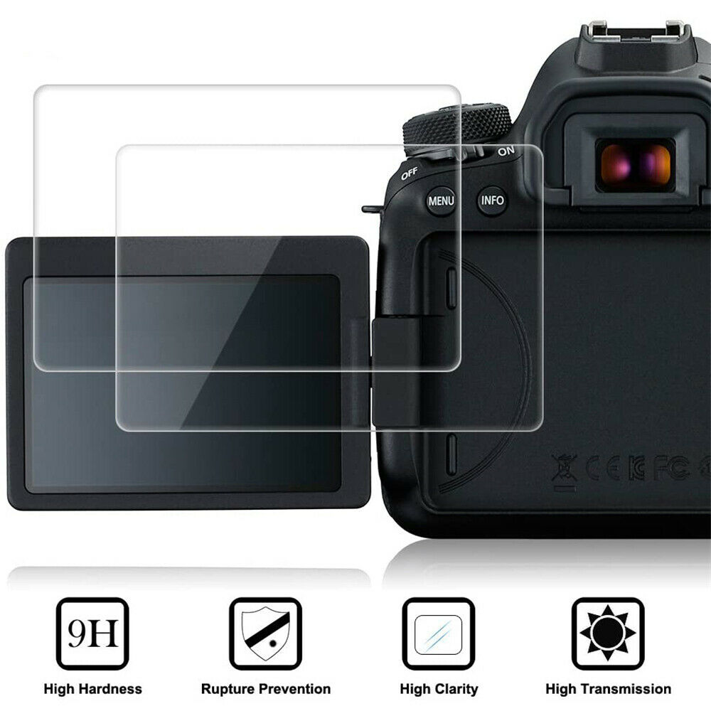 1Pc Screen Protector 9H Tempered Glass Film Guard Skin For Canon 60D/600D/EOS M