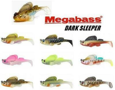 Pick Megabass Dark Sleeper Weedless Paddletail Swimbait 2.4in 1//4oz