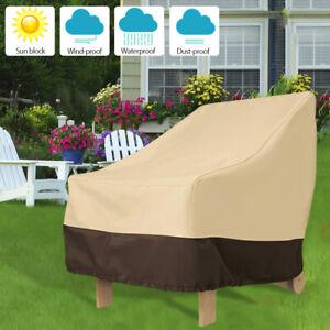 Heavy-Duty-Waterproof-Chair-Dust-Rain-Cover-For-Garden-Outdoor-Yard-Furniture-UK