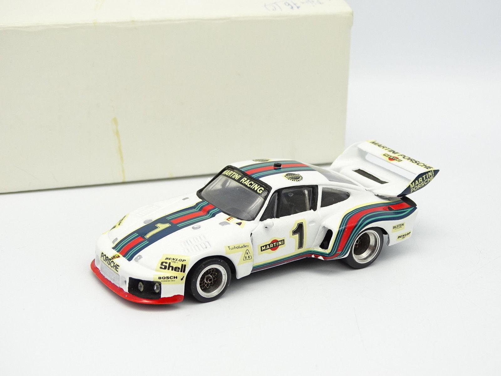 MRE Kit Mounted Metal 1 43 - Porsche 935 6 hours Dijon 1976 Martini No. 1