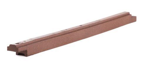 """Playsafer Flexible Rubber Mulch Border 4/"""" High x 6/' Length x 4/"""" Width"""