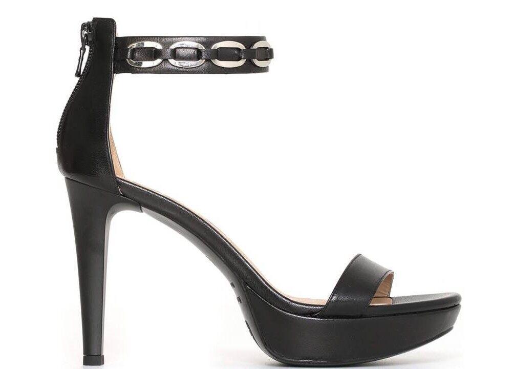 Nero Giardini P806042DE Negro Calzado Sandalias Elegantes Tacón Alto