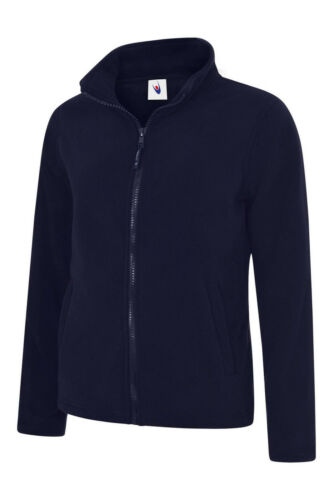 Ladies Fitted Fleece Jacket Size XS to 4XL in BLACK RED NAVY ROYAL 608