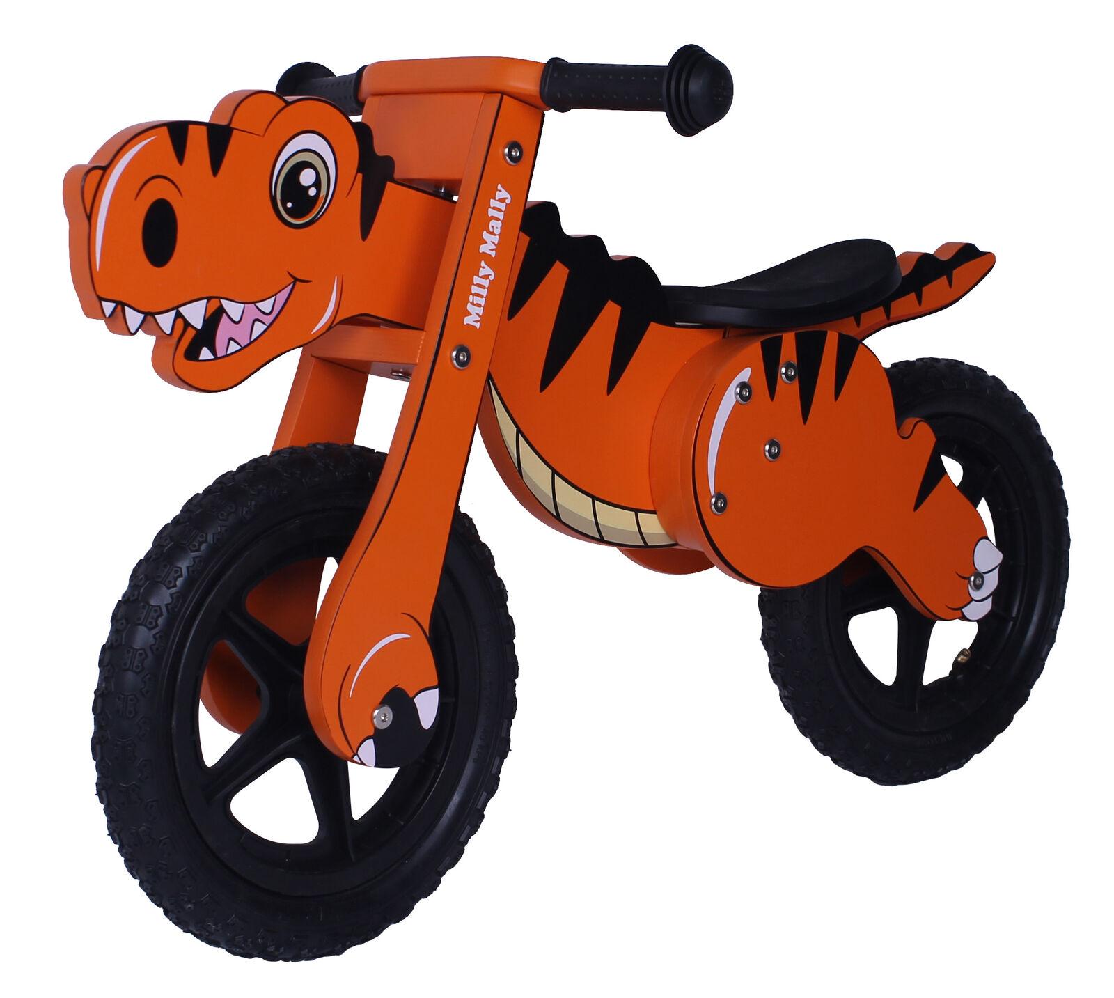 Laufrad DIN Orange Lernrad Kinderlaufrrad Lernlaufrad Holzlaufrad Kinderfahrrad
