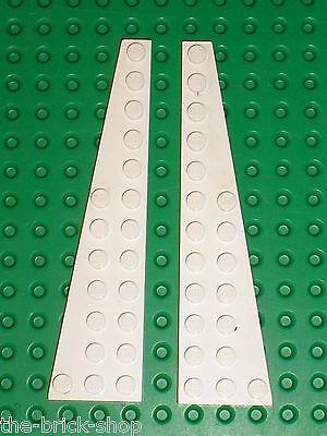 Lego Paire Aile Wedge plate 12x3 gauche droit noir//black 47397 47398 NEUF