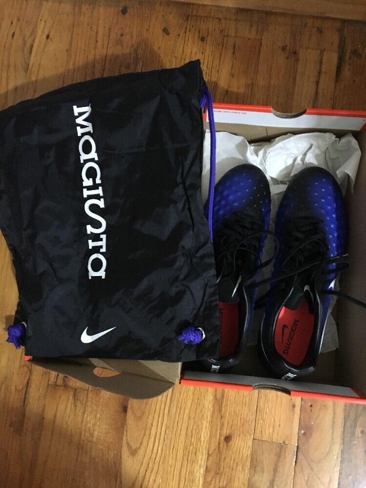 Nike uomini magista opus ii fg scarpini da calcio dimensioni nero blu acc