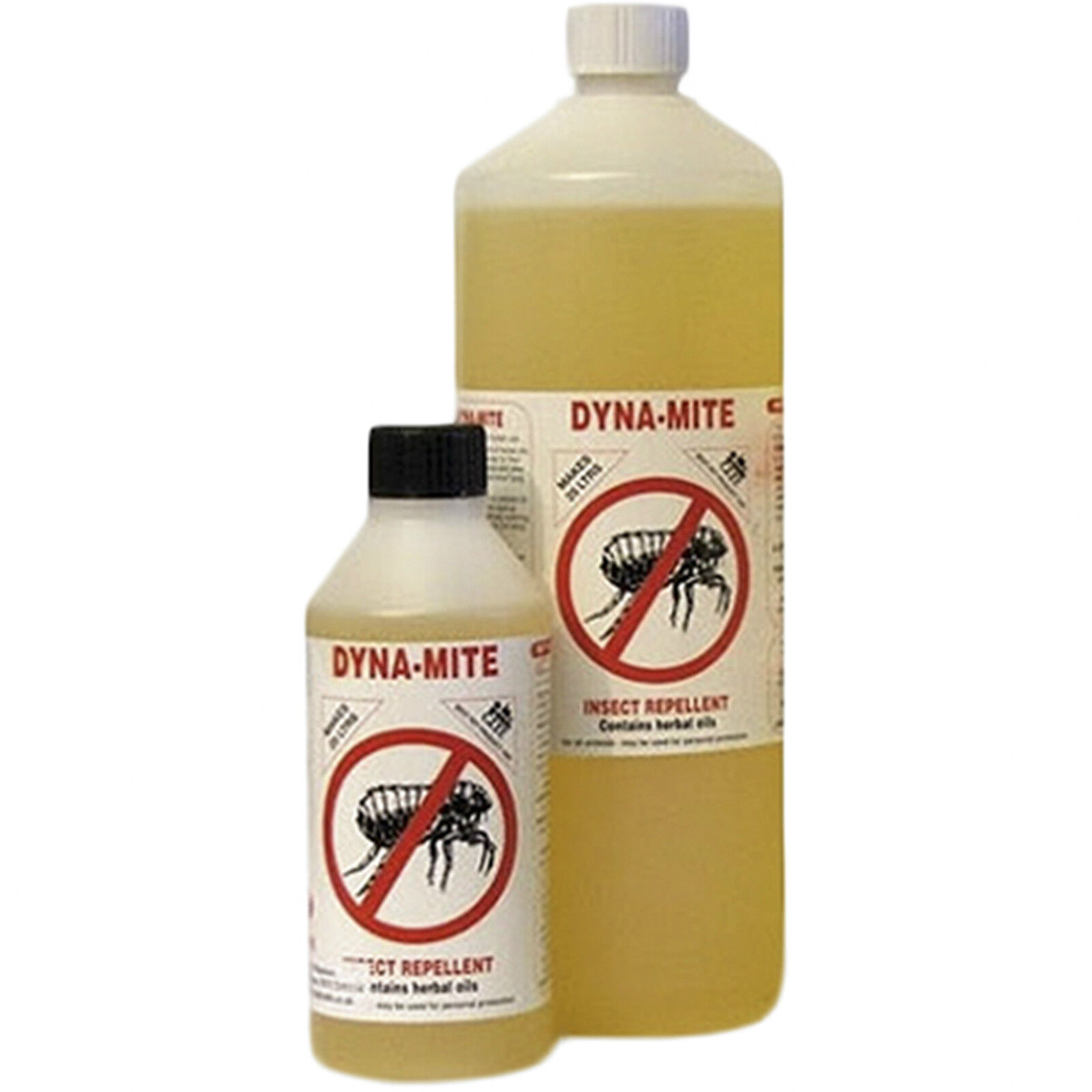 Dynamite insect  fly flea repellent dogs horses large 1 litre by Doghealth