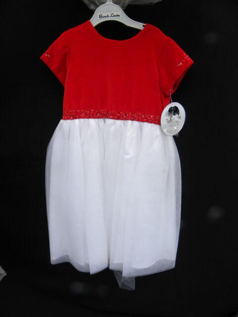266924b3405 NWT Sarah Louise Girl s Red Velvet   Tulle Dress