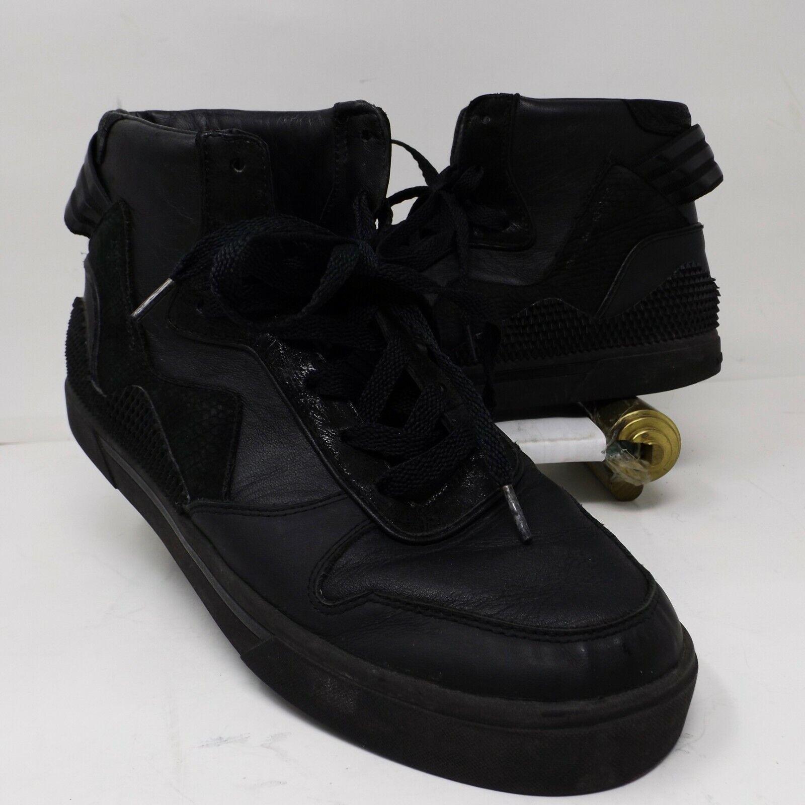 y3 black trainers