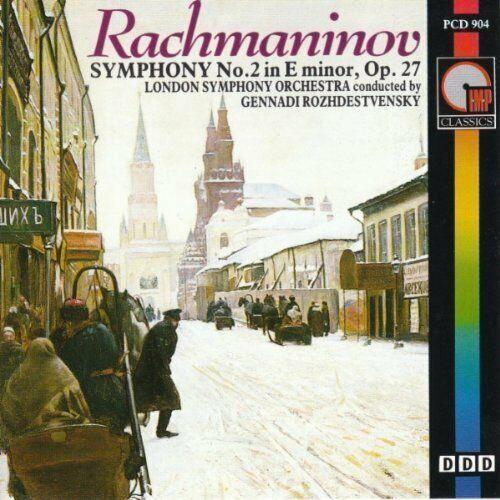 Rachmaninoff + CD + Symphony No. 2, op. 27 (IMP, 1988) LSO/Rozhdestvensky