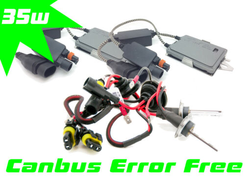 H7 H7R Xenon HID Conversion Kit 35W Canbus Pro For Opel Corsa MK2 C 2000-2006