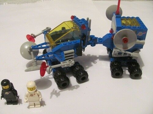 LEGO 6928 Classic Space Mobile Luce + schallmessst.  1x Uranium Search Vehicle