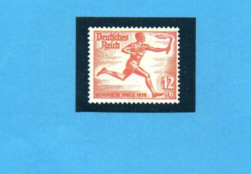 Rec Riproduzione francobollo OLYMPIA 1896-1972-PANINI-Figurina n.24-A