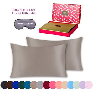 Pure-Mulberry-Natural-Silk-Pillowcase-3-piece-Gift-Set-King-Taupe