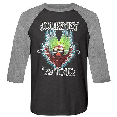 Journey Frontiers Album Cover Art Alien Head Men/'s T Shirt Rock Band Tour Merch