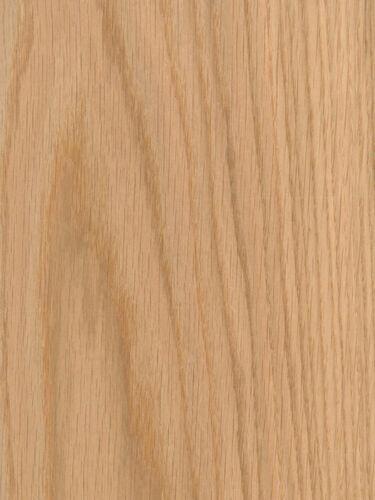 "3 sq ft Total Red Oak Wood Veneer 1//16/"" THICK Raw//Unbacked 5.5/"" - 7.5/"" x 24/"""