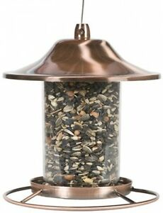 Hanging Bird Feeder Seed Metal Wild Pet Outdoor Garden ...