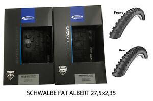 Satz-Schwalbe-Reifen-MTB-Fat-Albert-Front-Rear-27-5-60-584-Faltreifen-650B