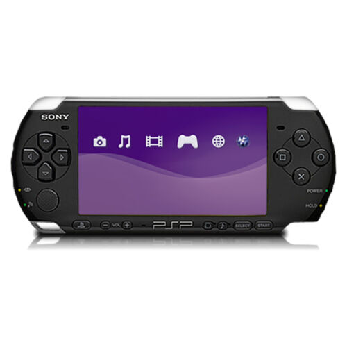 1 of 1 - Sony PSP 3000 Piano Black Handheld System