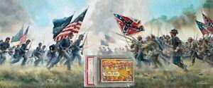 1965 A&BC Civil War News CHARGING THE BULLETS #30 EX-MINT 6 - Vintage garno PSA