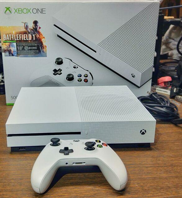 Microsoft Xbox One S Battlefield 1 Bundle 500GB White Console