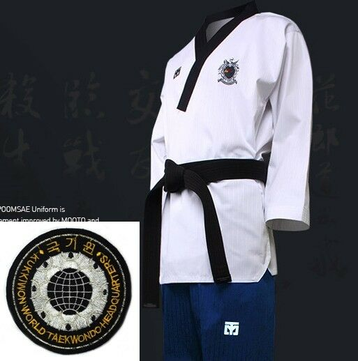 Mooto WTF Poomsae Dan Uniform FEMALE Dobok Kukkiwon Korean Taekwondo Tae Kwon Do