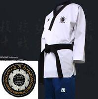 Mooto Wtf Poomsae Dan Uniform Female Dobok Kukkiwon Korean Taekwondo Tae Kwon Do