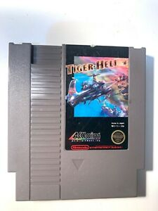 Tiger Heli ORIGINAL NINTENDO NES GAME Tested + WORKING & Authentic!